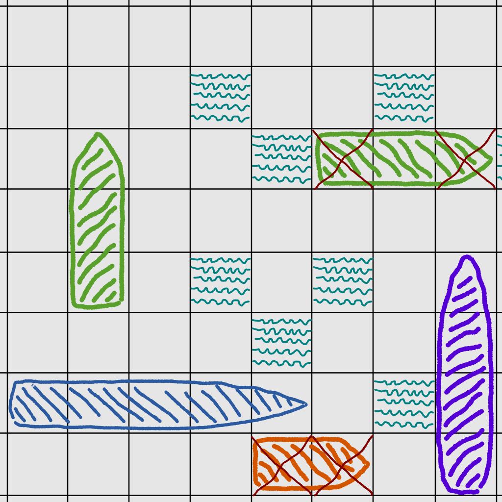 Doodle BattleShips - Tactical Warship Game
